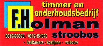 Holman timmerbedrijf Stroobos
